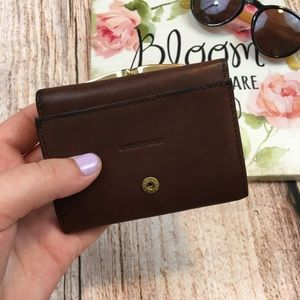 ✔️Leather Trifold Wallet w Change Pouch✔️